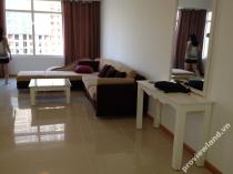 Cho thuê căn hộ 122m2 với 3 phòng ngủ tại Saigon Pearl tòa Ruby 2