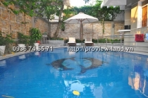 Thao Dien Villa for sale with area of 300m2, big pool
