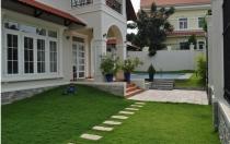 Cho thuê biệt thự khu Kim Sơn compound Thảo Điền Quận 2 DT 1000m2 đất