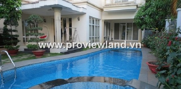 Villa Thao Dien ​​Compound for sale in District 2, have swimming pool