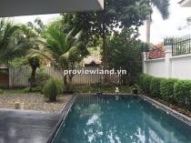 Bán biệt thự Compound ven sông Sài Gòn 560m2 1 trệt 2 lầu 4PN hồ bơi sân vườn thiết kế rộng rãi