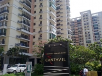 Cantavil apartment for rent in District 2, high floor, 3 bedrooms