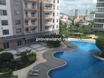 Cho thuê căn hộ tầng thấp 145m2 - 3 PN XI Riverview có ban công view hồ bơi nội thất cơ bản