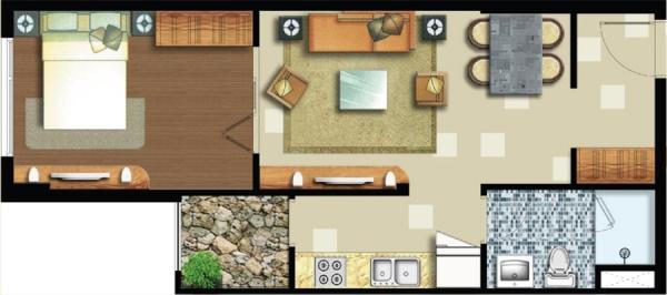 Cần bán căn hộ tại quận Lexington Residence 2 48m2