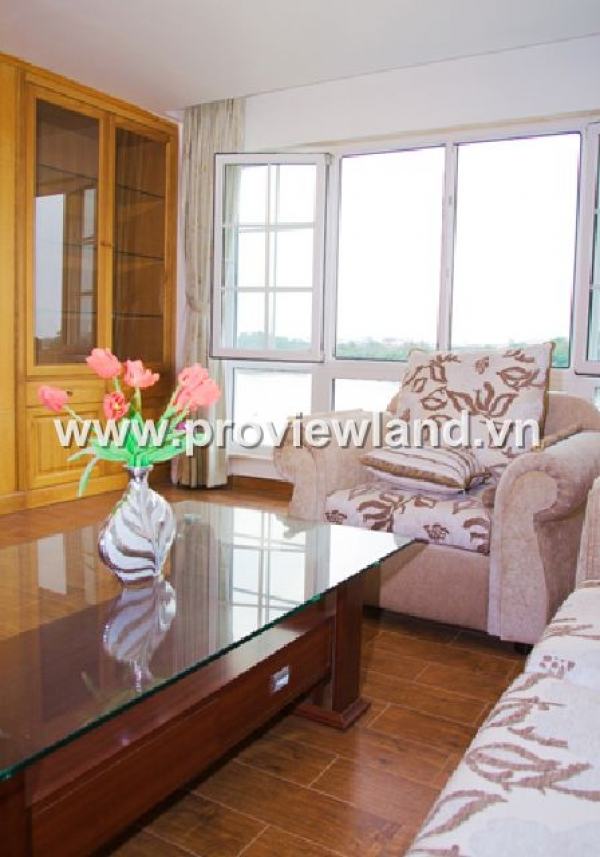 Service Apartment for rent on Nguyen Van Huong Street