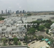Selling Saigon Pearl apartment 100 sqm 3BRs looking over to Saigon river and District 1