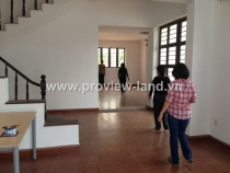 Thao dien Villas for rent in d2, basic furinture