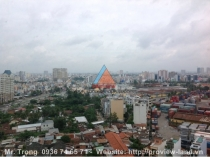 Saigon Pearl apartment Topaz Tower for rent at high floor nice view
