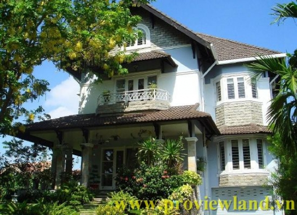 Villa for rent in Thao Dien , District 2