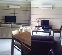 Cantavil An Phu apartment for rent low floor 2BRs 1 office room premier facilities