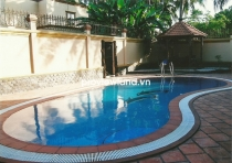 Villa for rent on Tran Ngoc Dien District 2 800 sqm 2 floors 5BRs garden and private pool