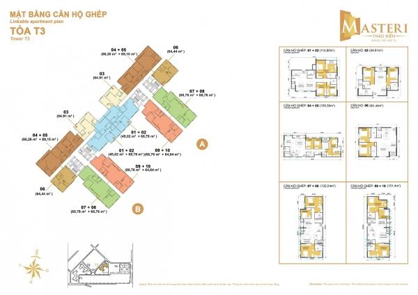 Bán căn hộ Masteri Thảo Điền tòa T3 căn 2 phòng ngủ giá hấp dẫn nhất