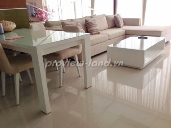 Căn hộ 2 PN Thảo Điền Pearl cho thuê tầng cao view đẹp