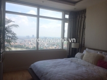 Cho thuê căn hộ cao cấp 85m2 tòa Ruby 1 với 2PN Saigon Pearl đầy đủ nội thất view sông đẹp mắt