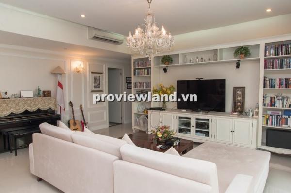 Dự án The Estella cho thuê căn hộ 171m2 3PN nhà đẹp nội thất đồ gỗ cao cấp