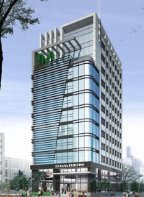 officetel building on Sương Nguyet Anh in district 1, area 10x40m 1 base - 6 floor