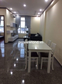 Hoang Anh Thanh Binh apartment for rent 73sqm 2BRs full furnished with new furniture