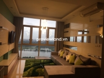 The Vista An Phu apartment for rent high floor 2BRs luxury furniture with Saigon riverview