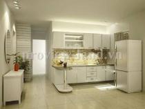 Cho thuê căn hộ dịch vụ quận 1 nội thất phong cách châu Âu