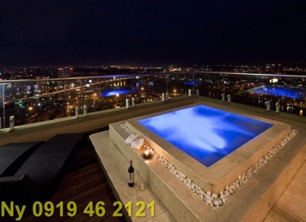 Bán Penthouse Saigon Pearl tầng 34 giá cực rẻ, nội thất đẹp