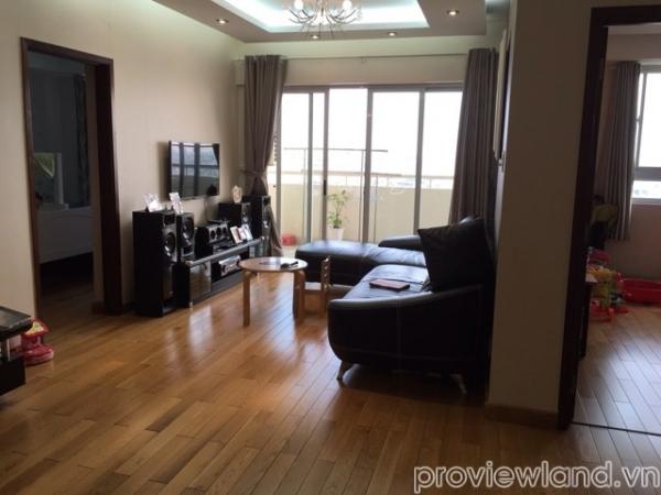 Căn hộ Hùng Vương Plaza 132m2 3 phòng ngủ view thoáng cần bán