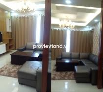 Cho thuê căn hộ 135m2 3PN Saigon Pearl tòa Sapphire thiết kế sang trọng nội thất cao cấp