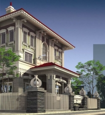 villa for sale in district 3, Phung Khac Khoan street, 12x25m