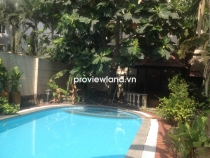 Bán biệt thự Thảo Điền 489m2 4PN khu Compound Xuân Thủy có hồ bơi và sân vườn nhỏ