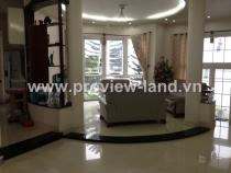 Sell villa next  Le Van Tam Park in District 1, 15x20m