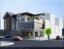 House town Nguyen Van Thu Street for rent with 900m2 on the Corner