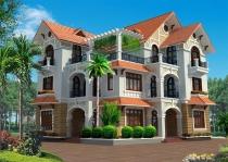 Sell villa facade Nguyen Thong District 3, 20x30m