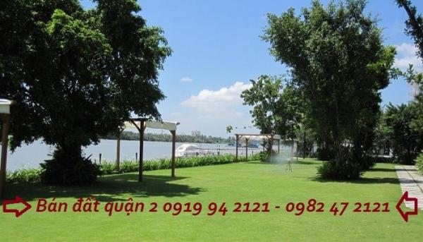 Bán đất Thảo Điền quận 2 ven sông với diện tích 15x21m