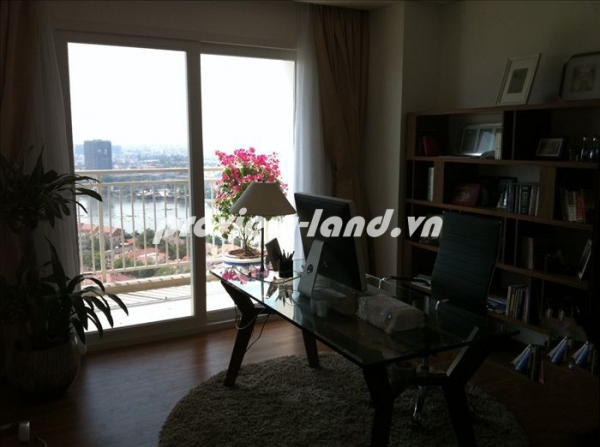 Xi Riverview apartment for sale, fully furnished, pool view, good price