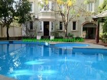 Cho thuê villas Thảo Điền  mặt tiền Ngô Quang Huy