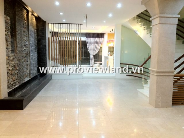 Villa Saigon Pearl for rent furnished