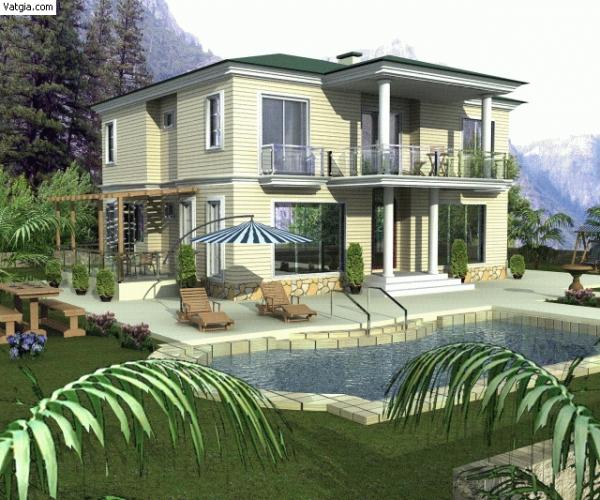 Biệt thự bán khu Mỹ Tú 1 Phú Mỹ Hưng 330m2 sổ hồng