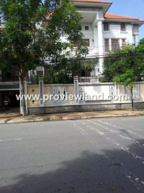 ​​ Thao Dien villa for sale in Nguyen Van Huong Street with large area