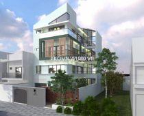 Cho thuê Biệt thự Thảo Điền mới mặt tiền 3 tầng 1 lửng có sân vườn